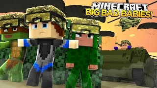 Minecraft BIG BAD BABY - HELLO NEIGHBOUR BABY DECLARES WAR ON THE BABIES