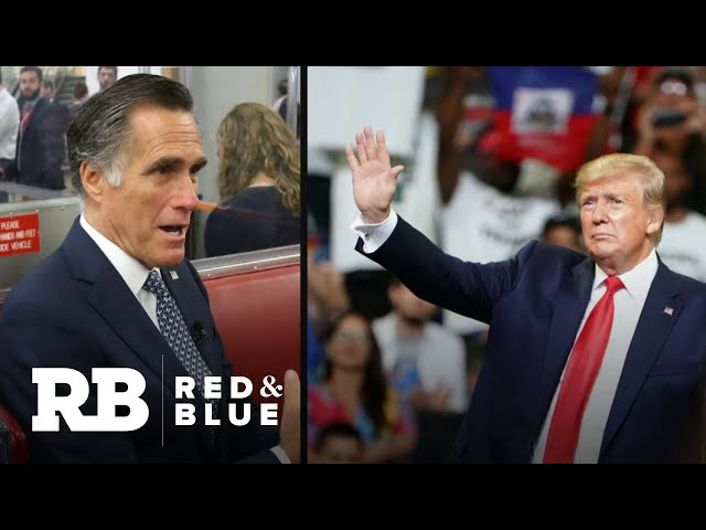 Why Romney is more willing to criticize Trump