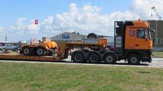 Baumaschinen  und Schwertransporte 2013 - Soeren66