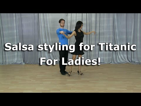 Salsa Titanic Styling for ladies - 3 Options