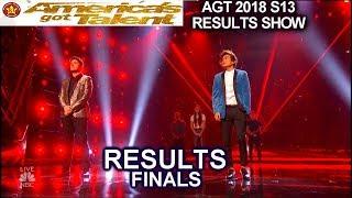 Results TOP 5 Daniel Emmet Shin Lim   America's Got Talent 2018 Finale AGT