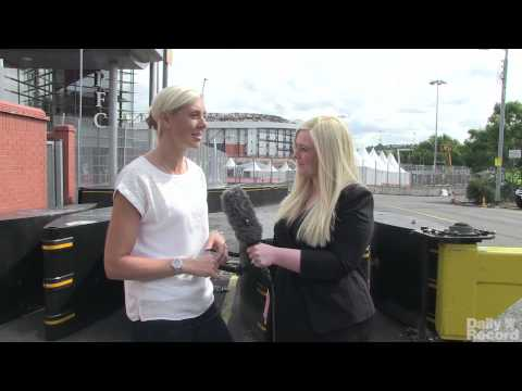 Glasgow 2014 - Lee McConnell talks athletics at Hampden Park