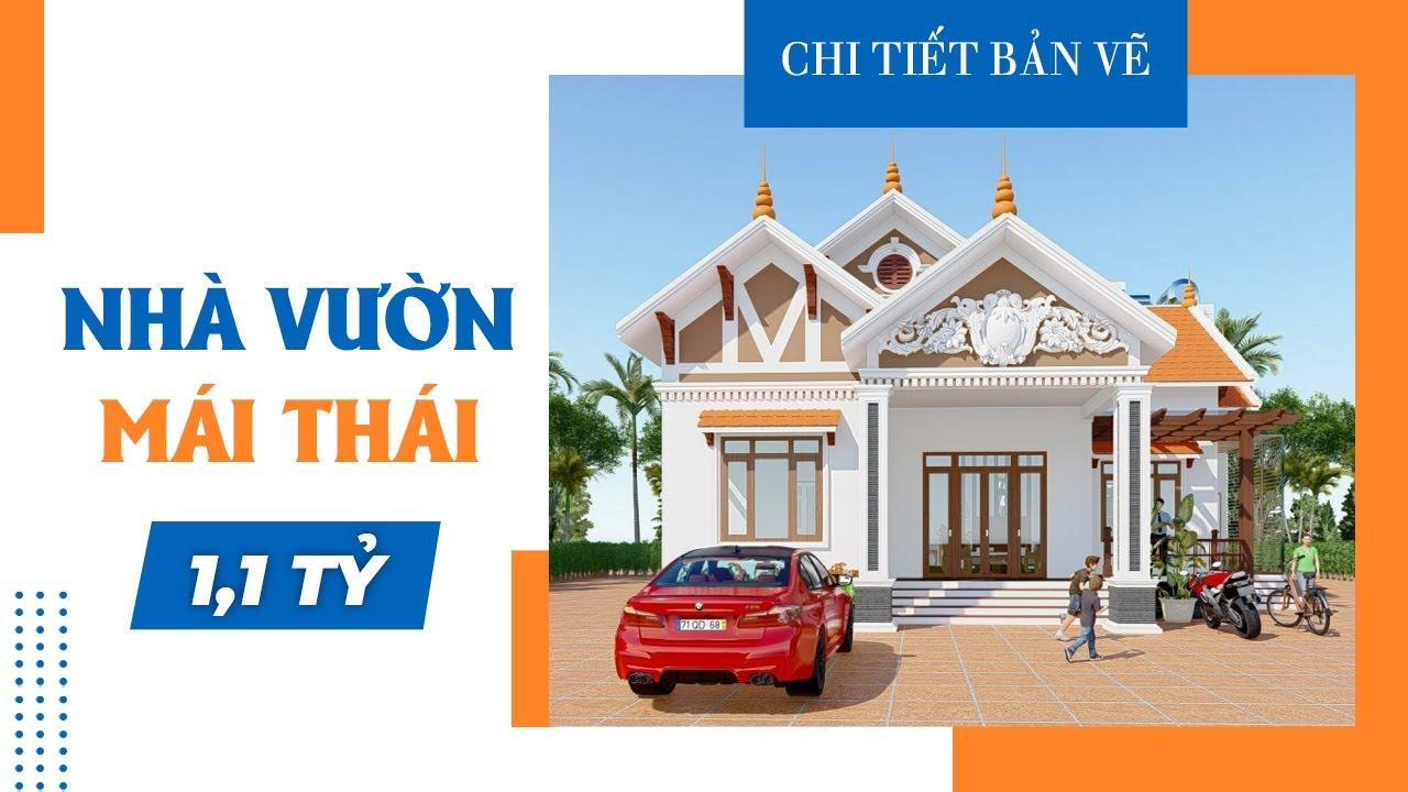 image Mẫu Bản Vẽ Nhà Cấp 4 Tại Phú Xuyên Hà Nội
