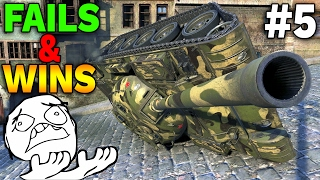 EPIC FAILS & WINS Compilation #5 - World of Tanks