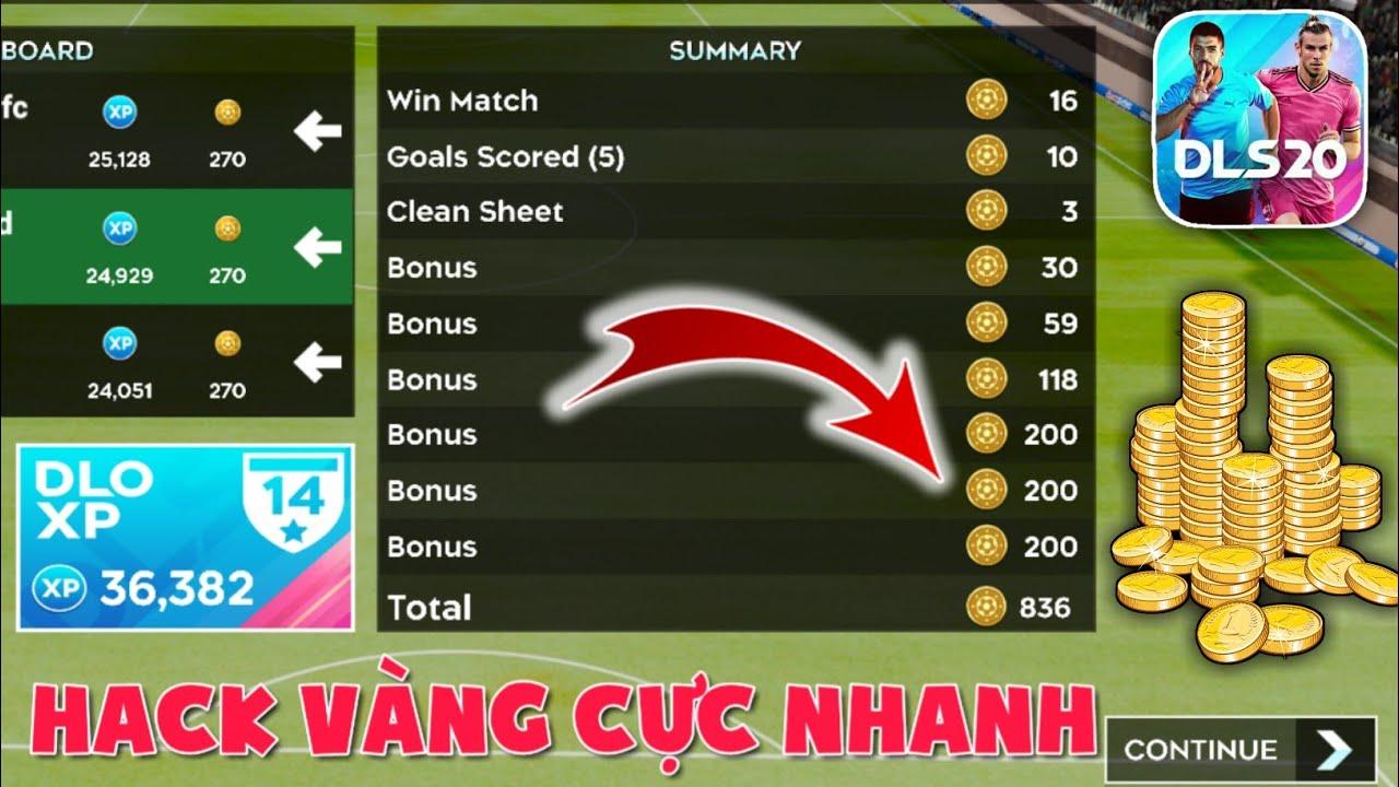Cách Bug Vàng VÔ HẠN như H.A.C.K trong Dream League Soccer 2020