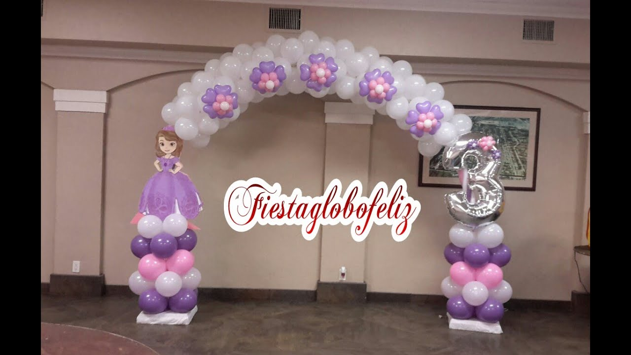 Como hacer decoraciones de globos car interior design - Globos de decoracion ...