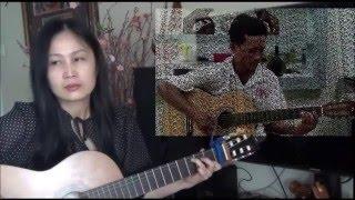 Về Đâu Mái Tóc Người Thương (guitar cover)_Quang Bình & TT