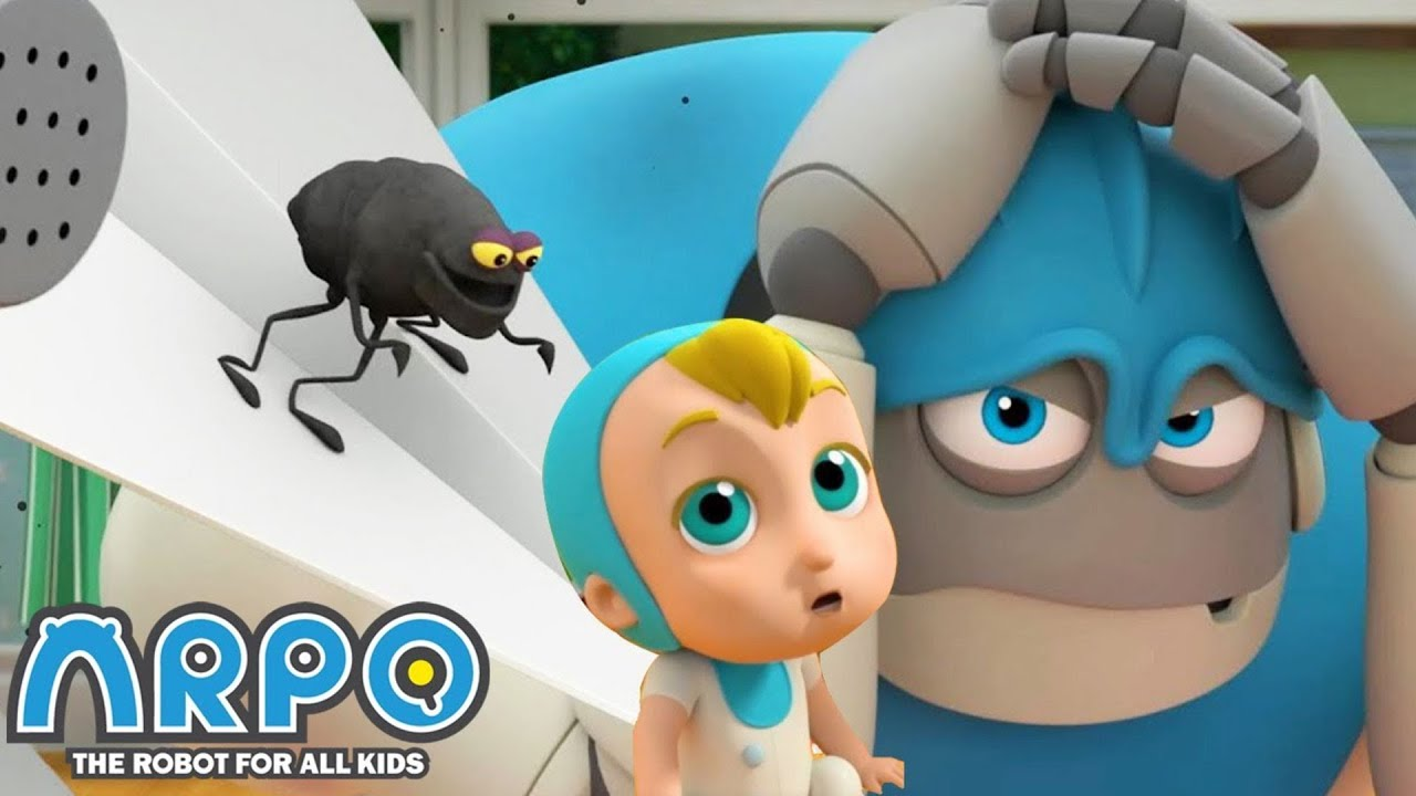 We Have A Flea Problem + More Robot Cartoons For Kids | Arpo | Sandaroo Kids
