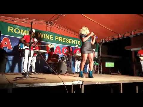 Stage performance for ntwala