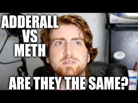 Adderall VS Crystal Methamphetamine - is meth really the more dangerous and addictive drug?