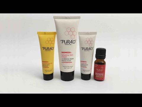PURAO BIOMEDI+ 100% Natural Skin Healing Treatments in Chinese