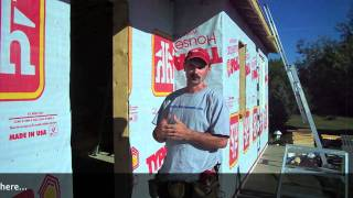 How To Install House Wrap [Typar]
