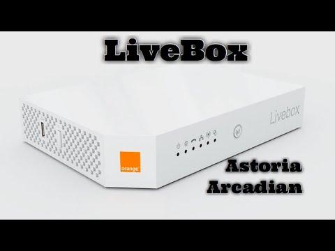كيفية اعداد راوتر LiveBox astoria arcadyan مع اتصالات المغرب