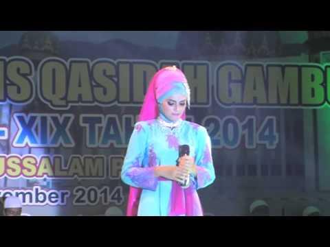 LASQI - JUARA 2 REMAJA PUTRI FESTIVAL BINTANG VOKALIS QASIDAH GAMBUS NASIONAL XIX 2014 PALU SULTENG