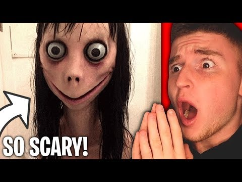 MOMO Is The SCARIEST THING I'VE SEEN...