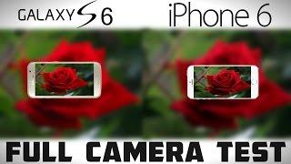 Galaxy S6 vs iPhone 6 - Full Camera Comparison