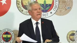 """Fenerbahçe Başkanı Yıldırım: """"FETÖ'nün Kumpası Devam Ediyor"""""""