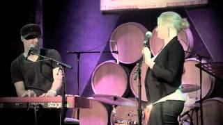 Repeat youtube video Megan Hilty and Matt Cusson singing