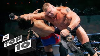 Brock Lesnar destroys smaller opponents: WWE Top 10, Nov. 10, 2019