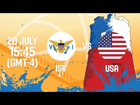Virgin Islands v United States - Full Game - Group B - 2016 FIBA Americas U18 Men