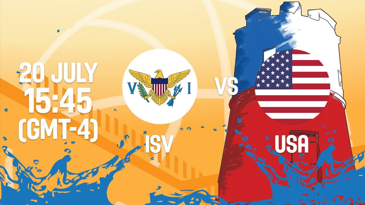 Virgin Islands v United States - Full Game - Group B