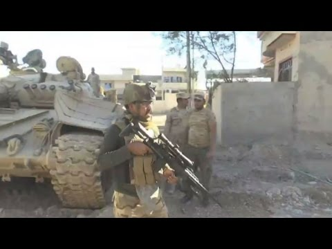 Iraq: Soldiers under threat from Islamic State Group snipers in Mosul