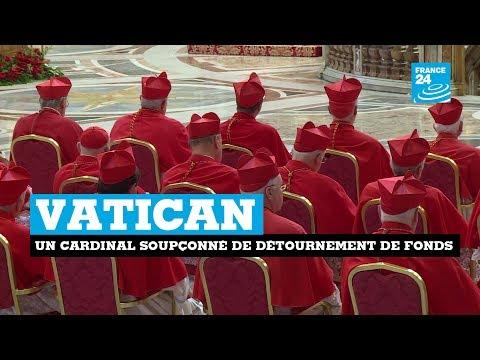 Vatican : un cardinal soupçonné de détournements de fonds