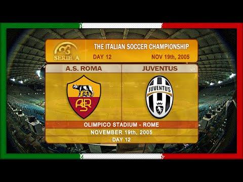 Serie A 2005-06, AS Roma - Juve (Full, RU)