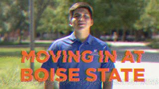 Moving in at Boise State University