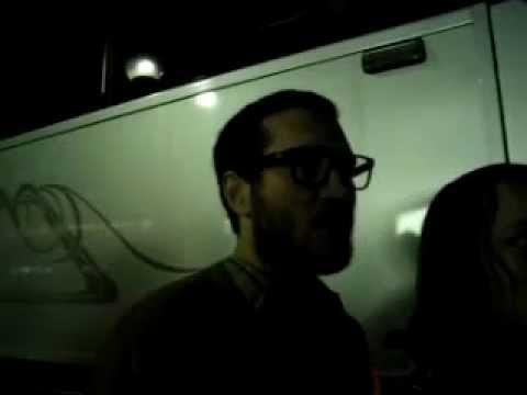 John Frusciante greets his fans- The Stadium Arcadium World Tour