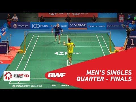 MS | Viktor AXELSEN (DEN) [1] vs LEE Chong Wei (MAS) [7] | BWF 2018