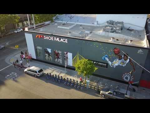 Shoe Palace Grand Opening In Oakland California!