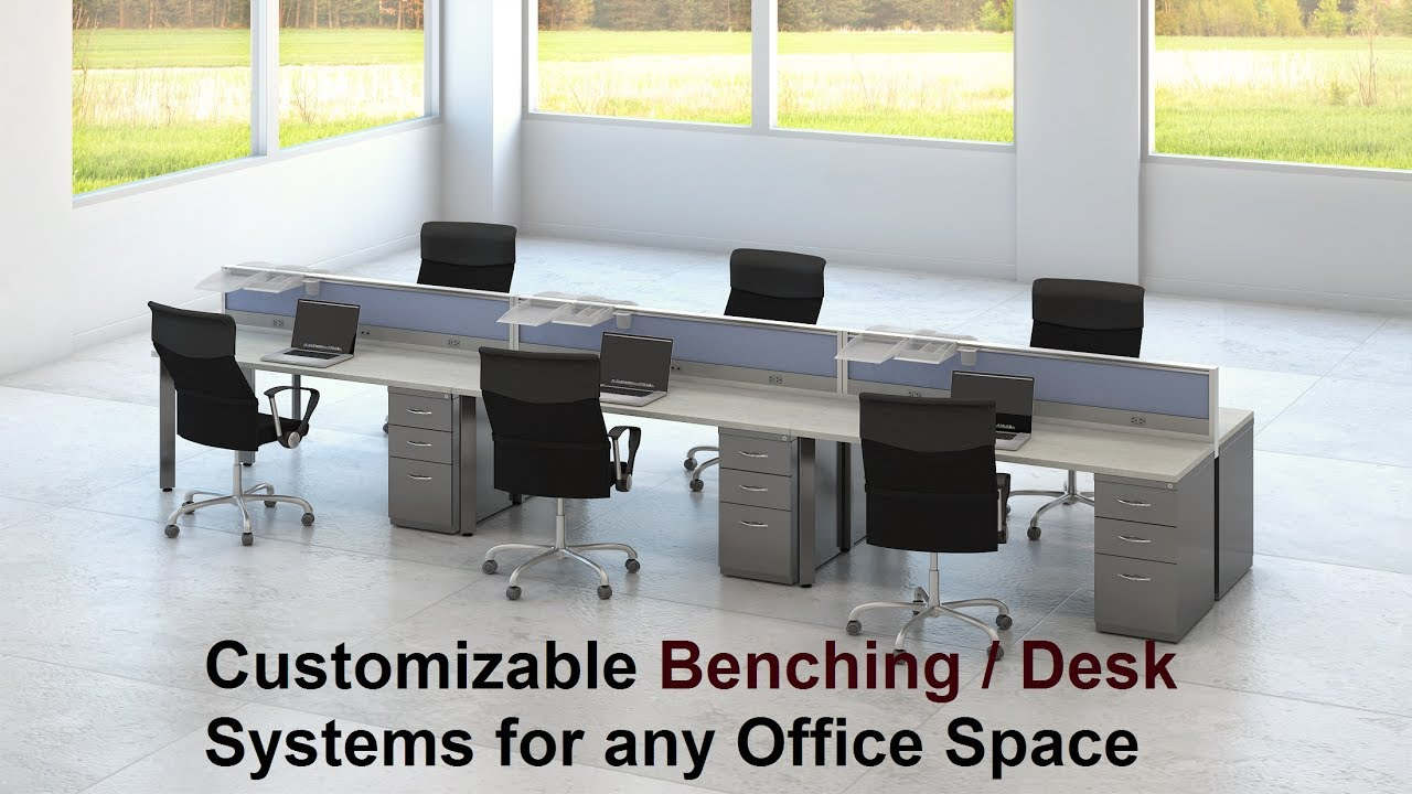 l office desk. hon empower office benching / desk systems l call (858) 549-3355 furniture san diego, ca