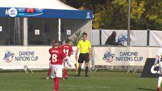 Austria vs USA - Ranking Match 17/24 - Full Match - Danone Nations Cup 2016