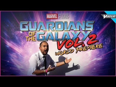 Guardians Of The Galaxy Vol 2 Red Carpet Premiere!