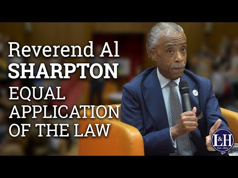 Reverend Al Sharpton: Supporting the African American Community (2017) | UCD L&H Society