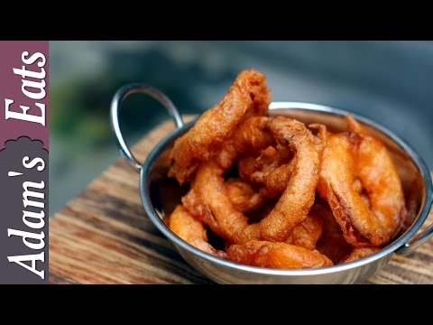 Beer Battered Fried Onion Rings Recipe | How To Make Fried Onion Rings