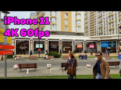 IPhone 11 Video Test (4K 60fps)