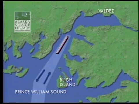 Exxon Valdez Oil Spill Animated Maps-Steve Nelson Video Collection - animated maps