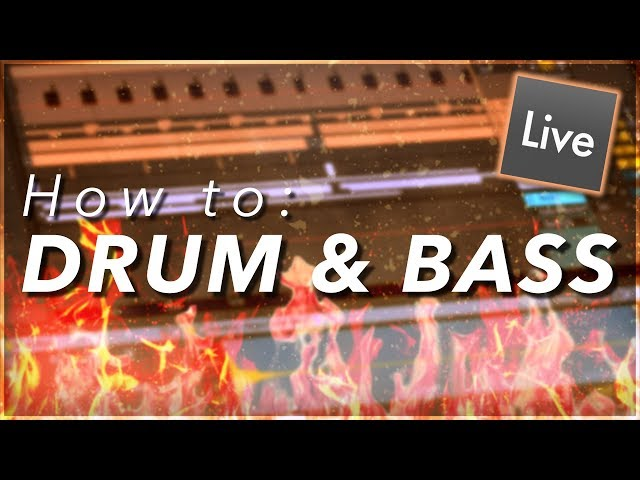 How to Make Drum and Bass Music || Ableton Live EDM Tutorial
