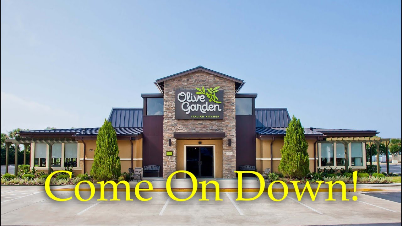 Come on down olive garden tv commercial 1 youtube for Come on down to the olive garden
