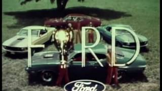 Cool 1970 Ford Commercials (Galaxie, Mustang, Torino, Cobra)