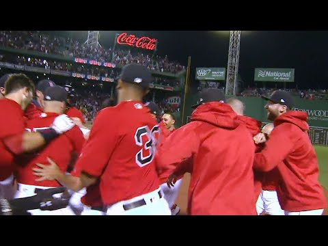 7/14/17: Red Sox best Yankees with a walk-off walk