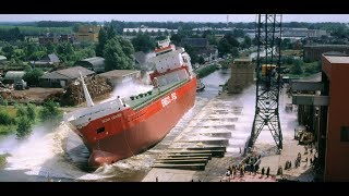 Top 5 ship launching ( समुद्र में जहाज का शुभारंभ) | Dangerous screne | By The Way Of Facts