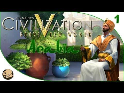 Civilization V - Arabic Campaign Part 1