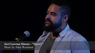 "Arri Lawton Simon - ""Query: What Is Love?"" (Roninson)"