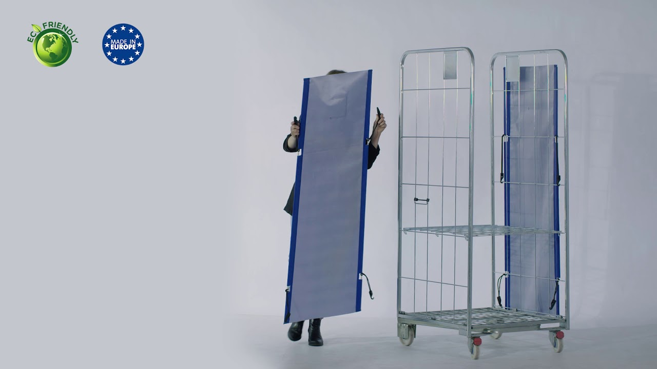 Video Removable Textile Doors