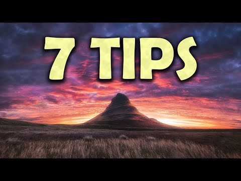 7 EASY Photography TIPS I wish I knew EARLIER
