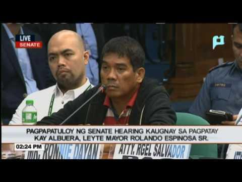 WATCH: Senator Richard Gordon interpellates Ronnie Dayan & Kerwin Espinosa