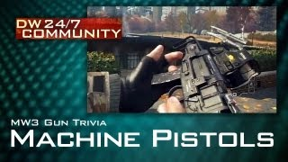 DW24/7 MW3 Gun Trivia - Machine Pistols
